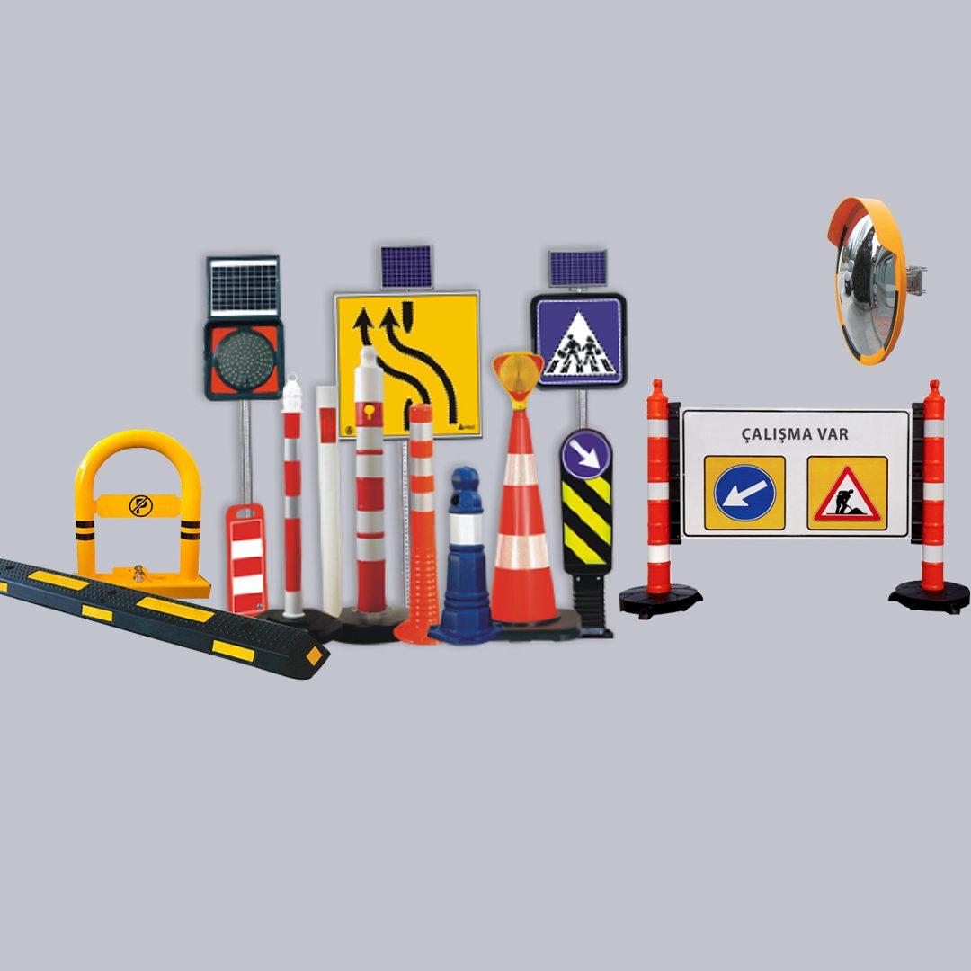 Materiais de tráfego