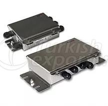 Caixa de conexão da célula de carga