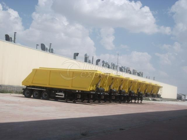 Grain Type Tipper Without Side Wall
