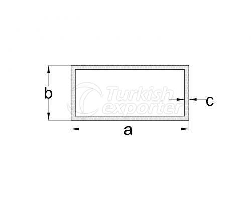 Standard Profiles Rectangular Tube Profiles