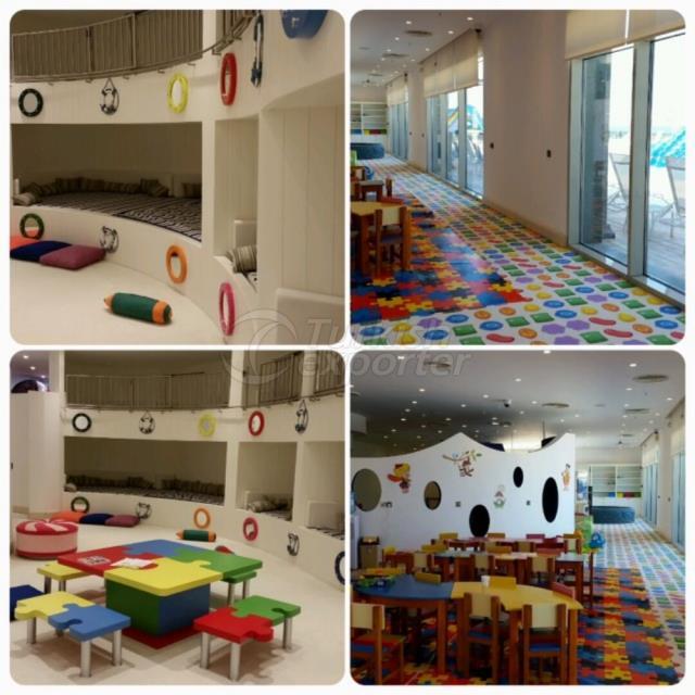 Hotel Concept-Kids Playground