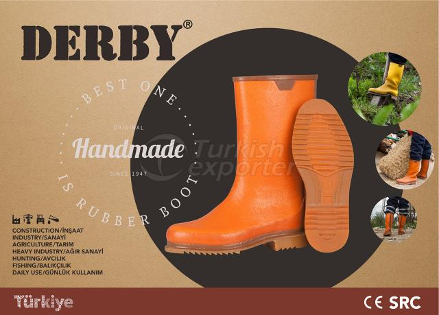 Derby Rubber Boots