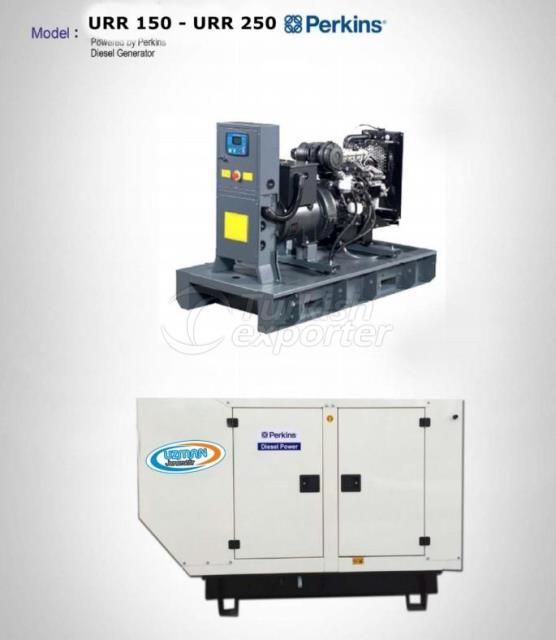 Diesel Generator - URR 150 - URR 250