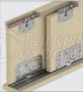 Adjustable Sliding Door System M03 7020