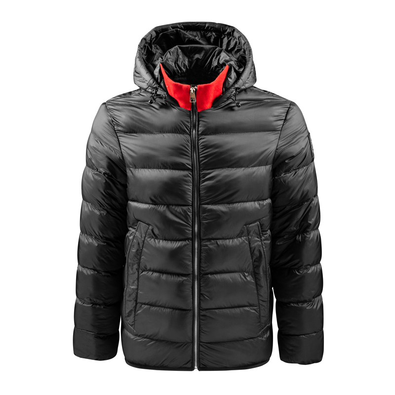 Men's New Fashion Casual Hooded Coat