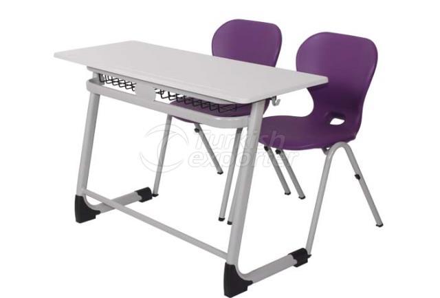 Double School Desks