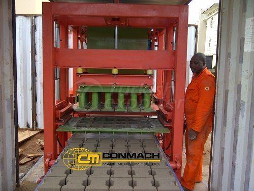 Beton Blok ve İnterlok Makinesi