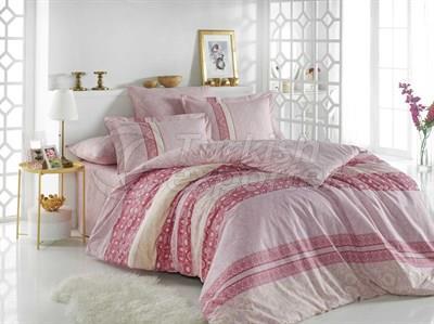 إيما بينك - طقم سرير مفرد من بوبلين (8698499130487)