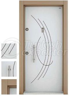 Porta de aço E-009