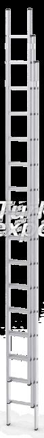 Three Piece Extension Ladders