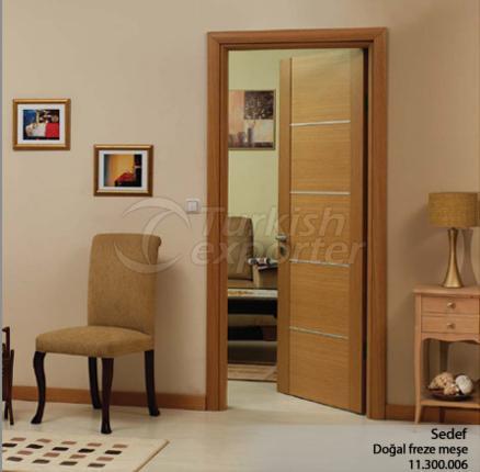 Porte en bois Sedef