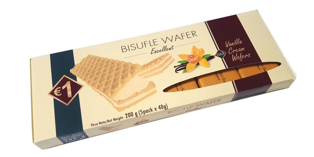 Wafer with Vanilla Cream