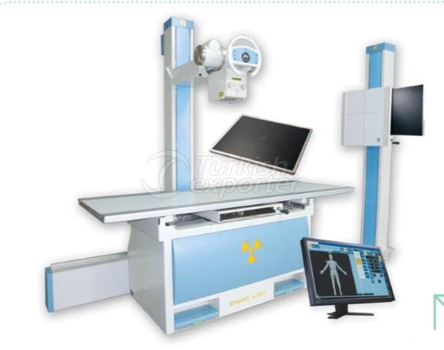 Double Detectors Floor Mounted X-Ray Systems