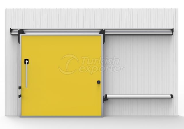 أبواب التخزين البارد - نوع Slammed