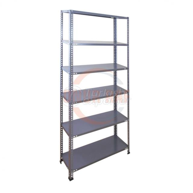 Steel Shelf Unit Gray