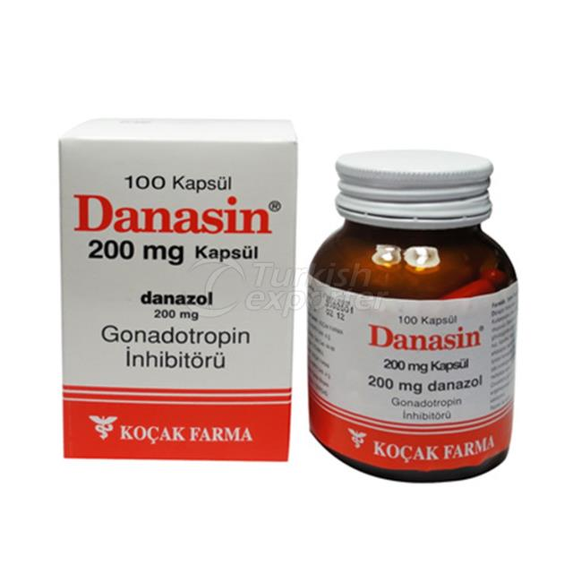 DANASIN (DANAZOL) 100 MG AND 200 MG
