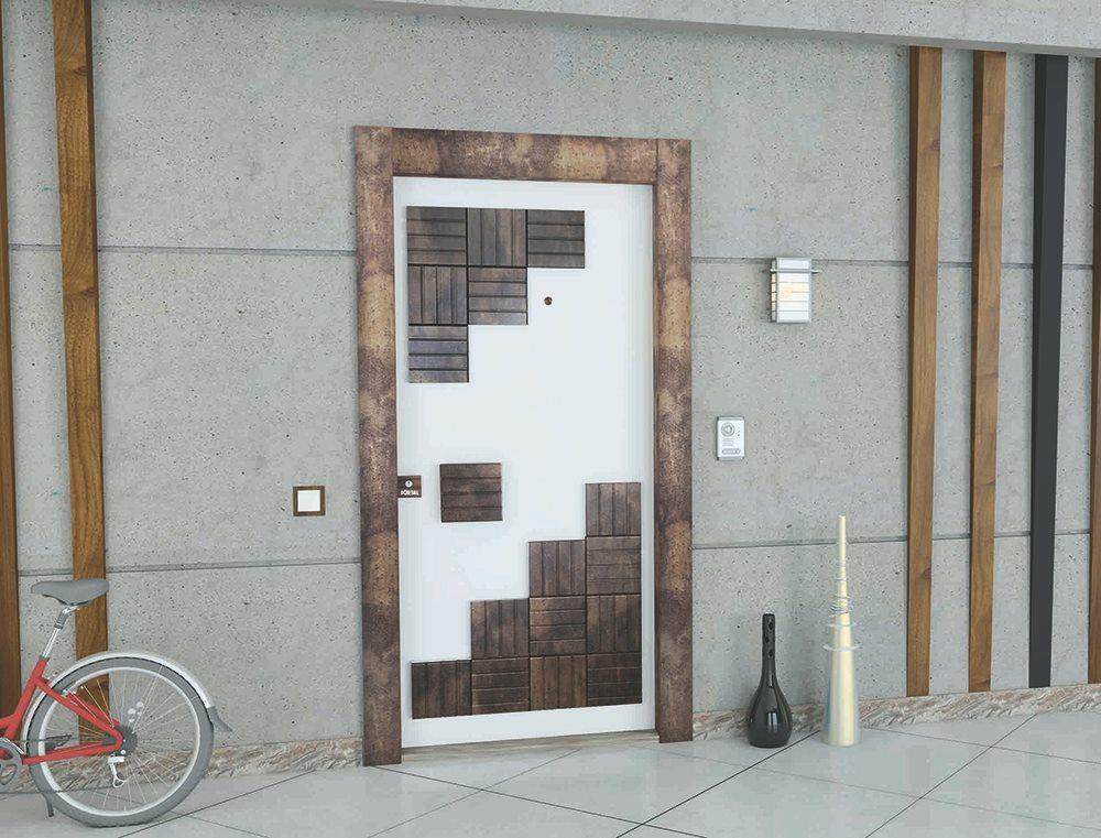 Steel Doors Platinum Cube