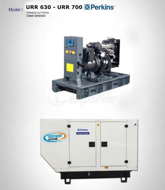 Diesel Generator - URR 630 - URR 700