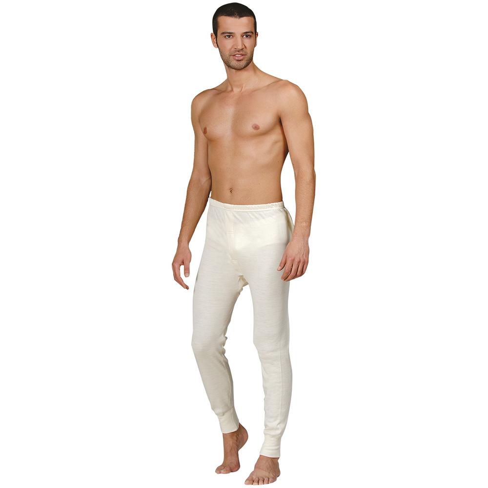 Men's Wool Long Pants Underwear