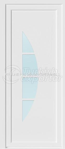 Flat PVC Door Panels 10006