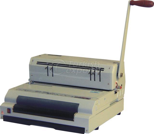 Spiral Coil Punching - Binding Machine SANEM COILMAC