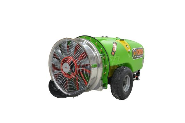 Trailed Type Turbo Atomizer 1200 lt