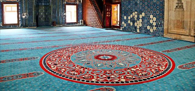 wool mosque carpet