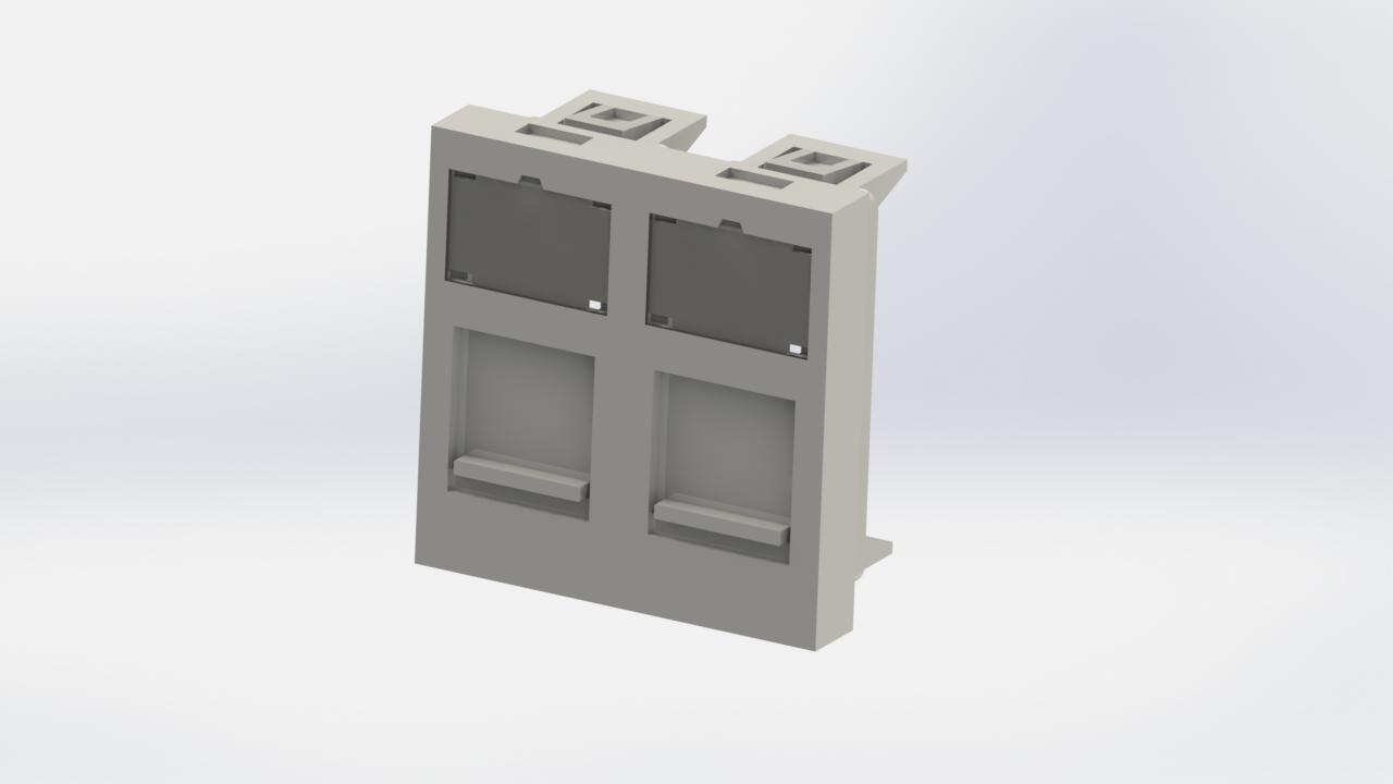 45*45 mm Data / Telephone Socket Cover / 2052