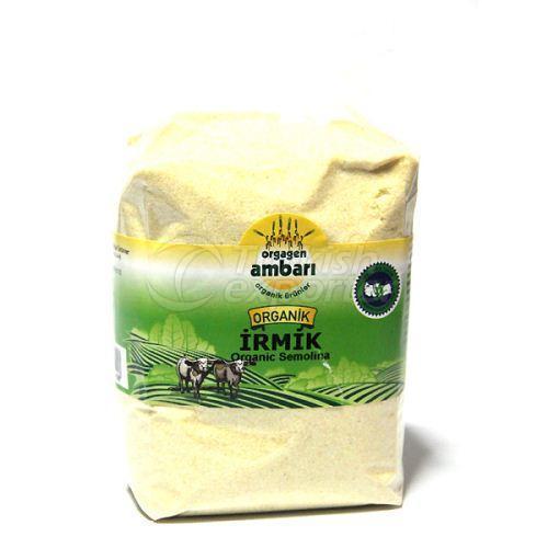 Organic Semolina 500 Gr