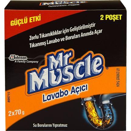 MrMuscle granuraldrain opener 70gX2