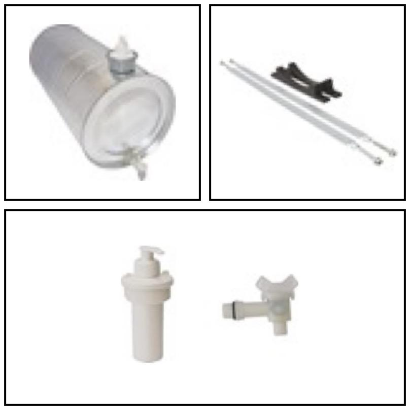 ALKOTEK WATER TANKS, WATER TANKS TAPS, AND CONNECTIONS