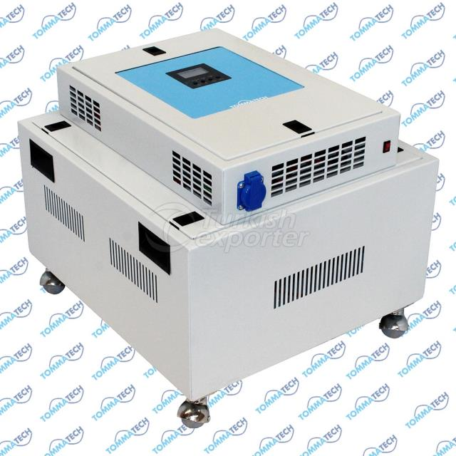 1000W 12V 3P-4P-6P TT1000 Hybrid Solar Power Box