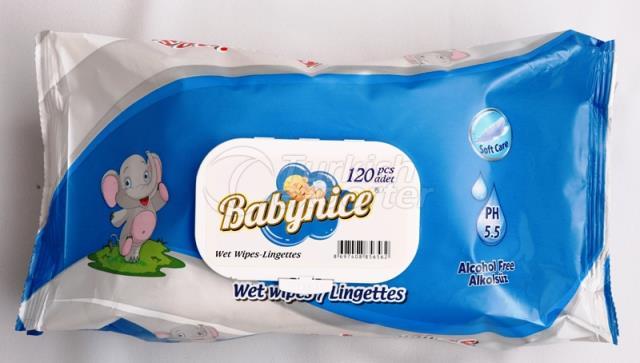 Baby Nice 120 Pcs Wet Wipes