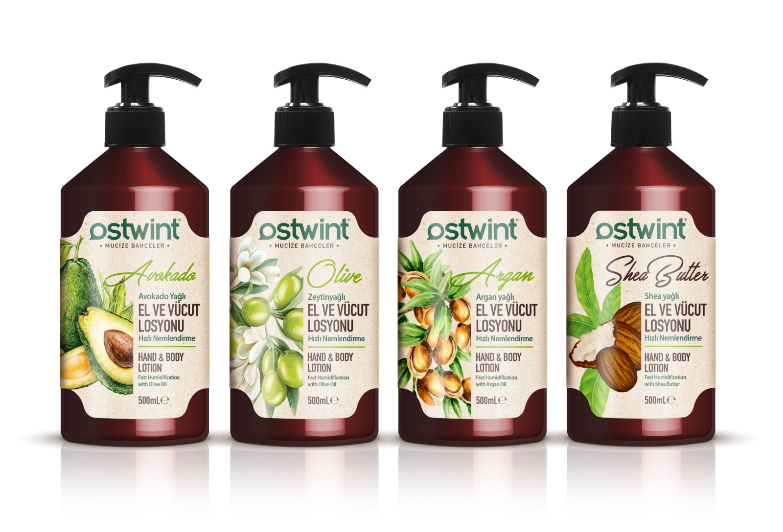 OSTWINT BODY LOTION SERIES