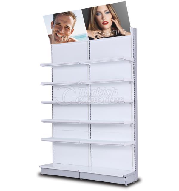 Cosmetics Display Wall Shelf