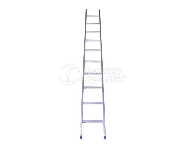 Single Section Aluminum Industrial Ladder