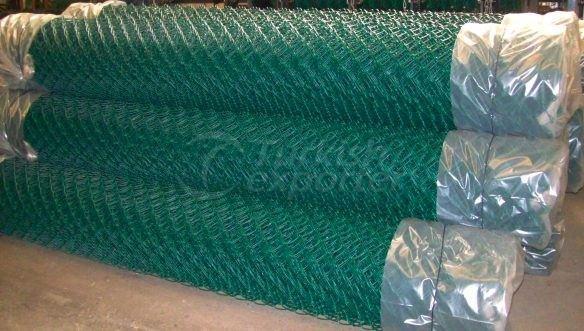 Clôture de fil enduit de PVC