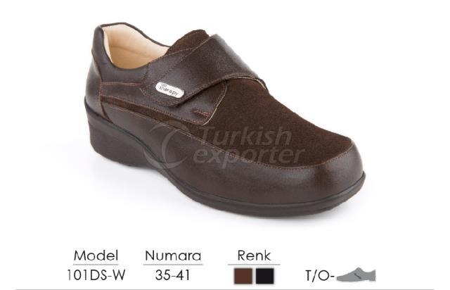 Diabetic-Orthopedic Women Shoes 101DS-W