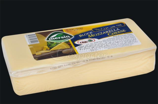 Mersin Block Mozzarella Cheese 1000 gr