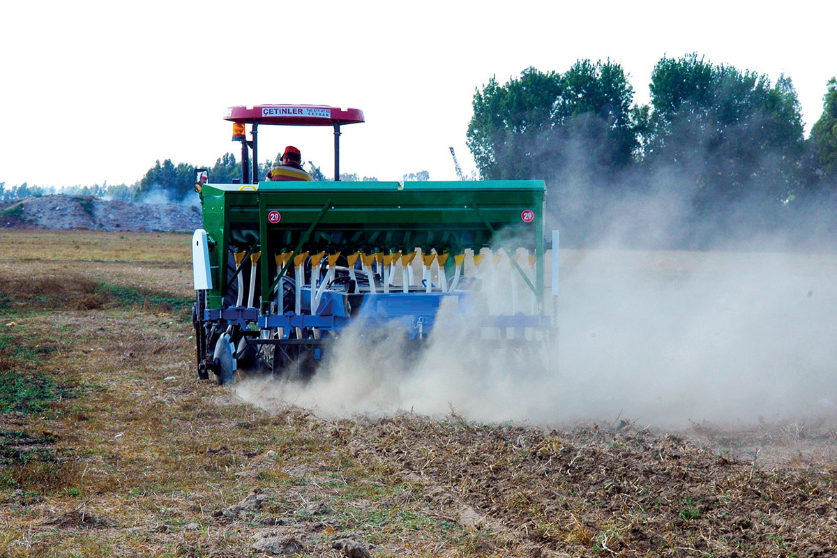 SEMI-PROCESSED STUBBLE PLANTING MACHINE