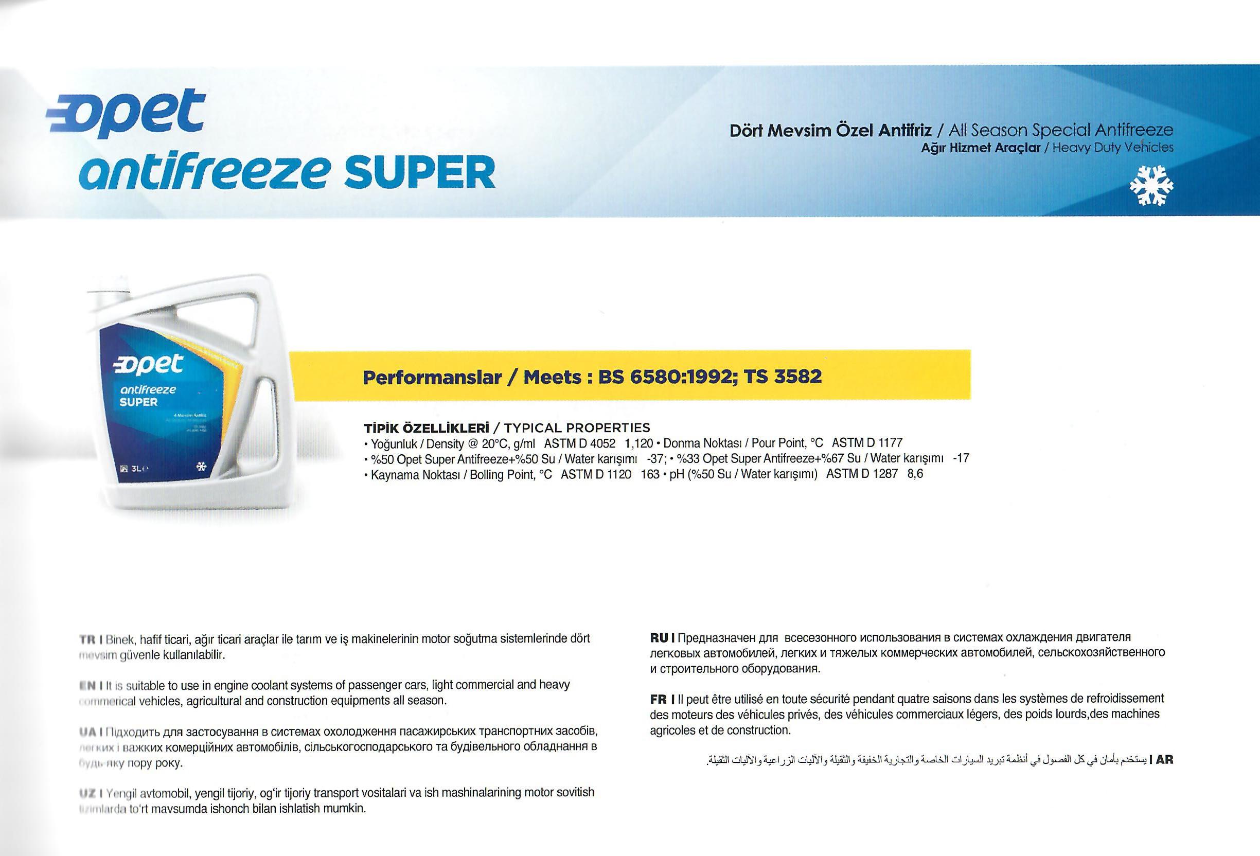 Super Antifreeze