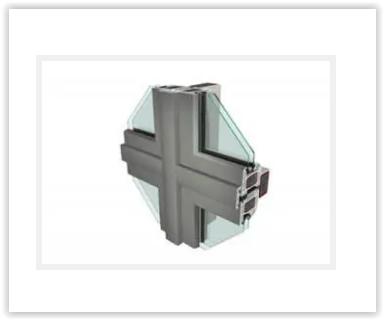 Cephe Sistemleri - GEALAN S8000 74MM