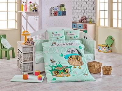 Cool Baby Mint - Комплект постельного белья для младенцев (8698499129375)