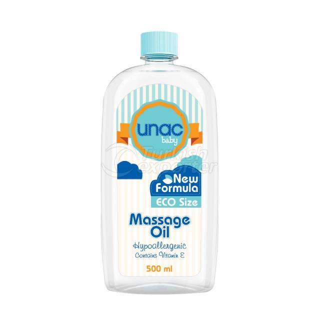 Un3026 - Unac Baby Massage Oil 500ml