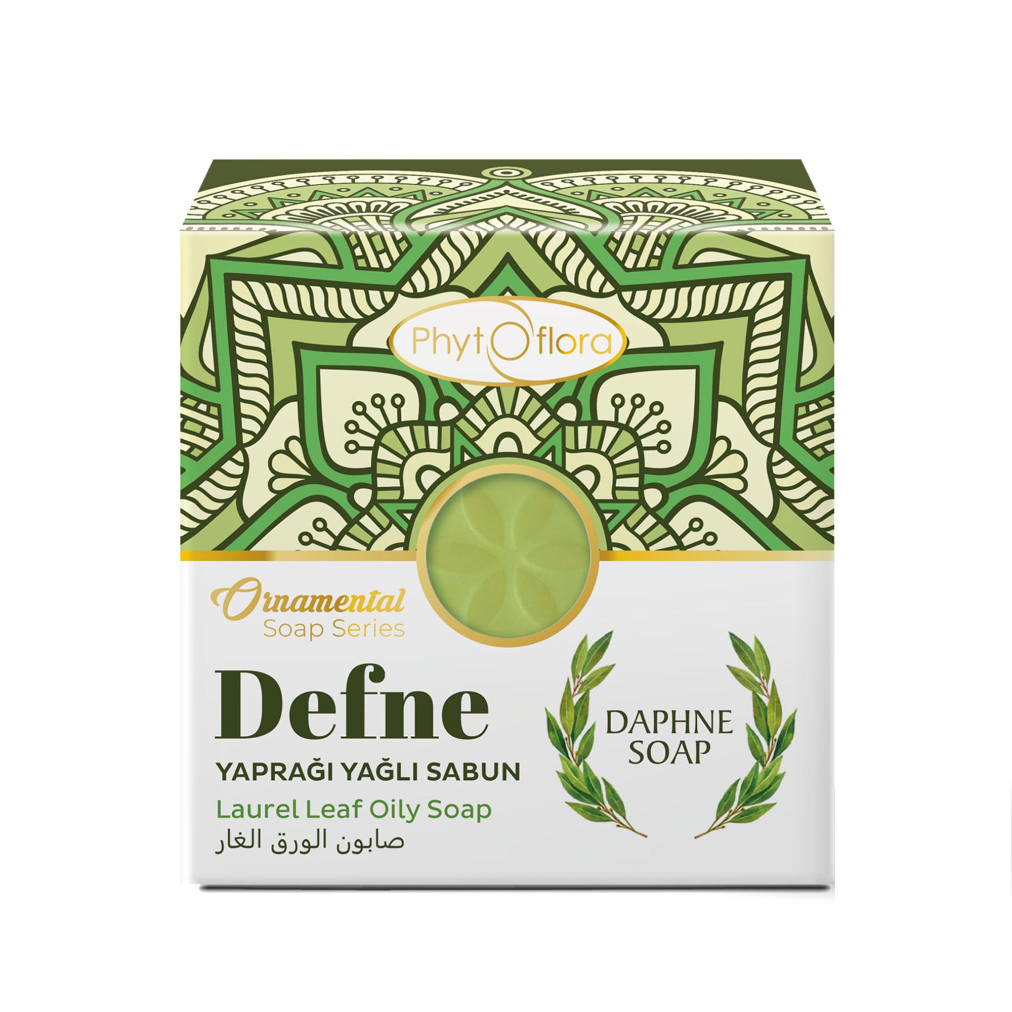 laurel leaf herbal soap - ornamental soap series