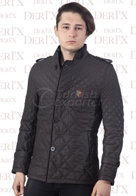 Leather Jackets E- 102 Brown