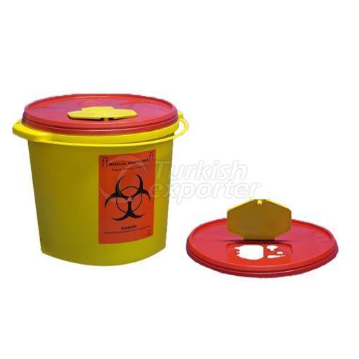 Conteneur de déchets médicaux de 5 LT
