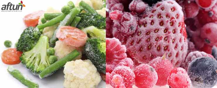 IQF Frozen Fruit and Vegetable