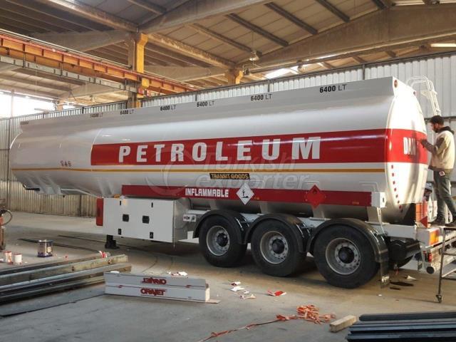 46.500 lt Aluminum Fuel Tanker