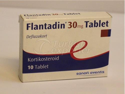 FLANTADIN 30 MG 10 TABLETS